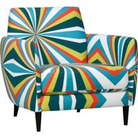 parlour bold chair in graphic | CB2
