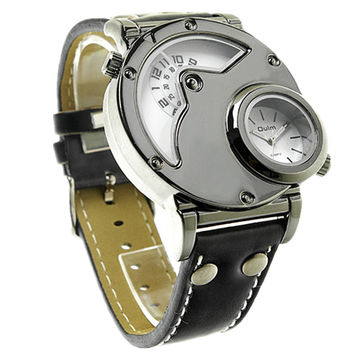OULM Military Dual Time Men's Watch