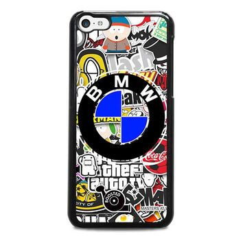 BMW STICKER BOMB iPhone 5C Case Cover