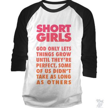 Short Girls Baseball Shirt