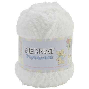 Pipsqueak Big Ball Yarn-Whitey White