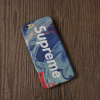 Unique Painting Pattern Supreme Iphone 6 6s Plus & 7 7plus Cover Case + Gift Box