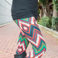 Print Ladies Leggings