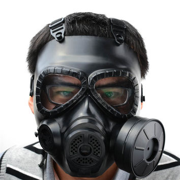 Military Army Protection Gear Resin Tactical Full Face Gas Mask