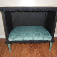 Pet Bed End Table Side Table Dog or Cat Bed