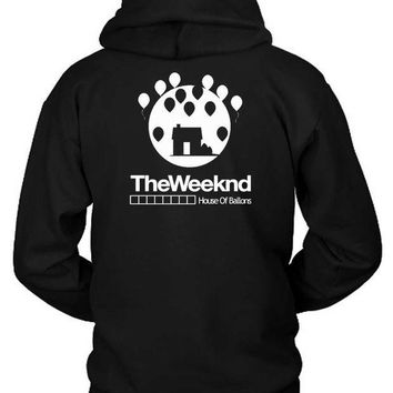 ESBH9S The Weeknd House Of Ballons Two Hoodie Two Sided