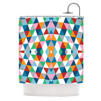 "Project M ""Geometric"" Shower Curtain"