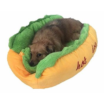 Cozy Hot-Dog Sofa Bed
