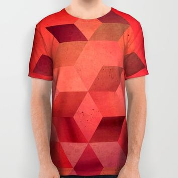 Heat All Over Print Shirt by DuckyB (Brandi)