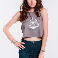 Eye Of Lunette Tank By Mate The Label
