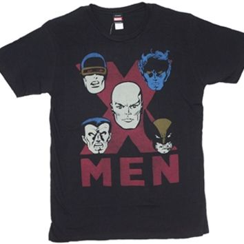 X-Men Red X on Black Shirt | Super Hero T-Shirt