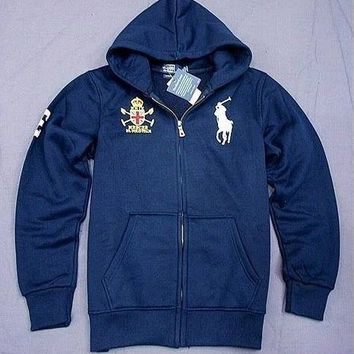 Beauty Ticks Ralph Lauren Club Big Pony Hoodies