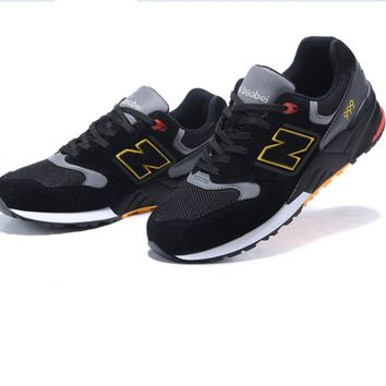 New Balance ML999MMT Fashion Running casual shoes Black silver N-1