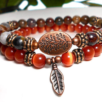 Indian Feather Native American Bracelet