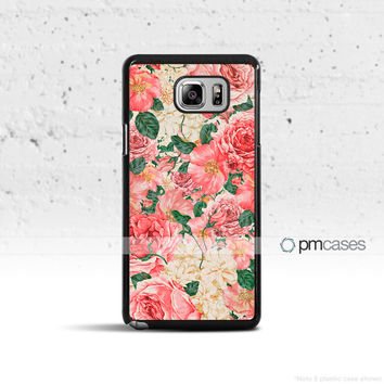 Carnations Floral Case Cover for Samsung Galaxy S3 S4 S5 S6 S7 Edge Plus Active Mini Note 3 4 5 7