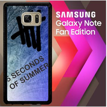 5 Sos Letter D00367 Samsung Galaxy Note FE Fan Edition Case