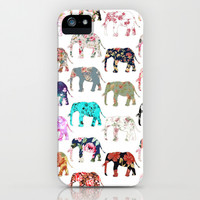 Floral Herd iPhone & iPod Case by Girly Trend