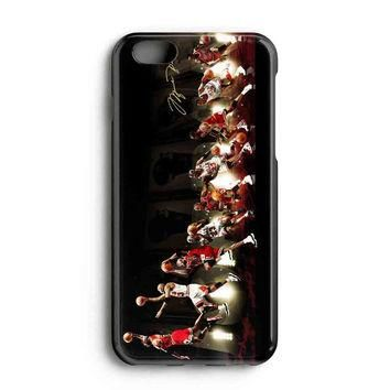 "Apple Iphone 6 4.7"" Case - The Best 3d Full Wrap Iphone Case - Michael Jordan Nba Chic"