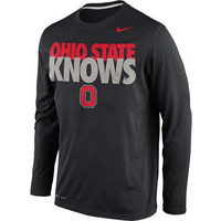 Ohio State Buckeyes NCAA Knows Legend Long Sleeve T-Shirt