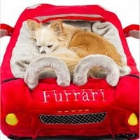 Furrari Car Bed for Dogs