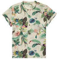 Botanical print shirt - Scotch & Soda