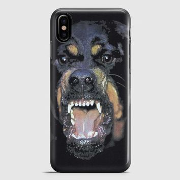 Givenchy Rottweiler == iPhone X Case
