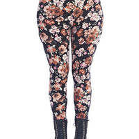 Floral Legging | Wet Seal+