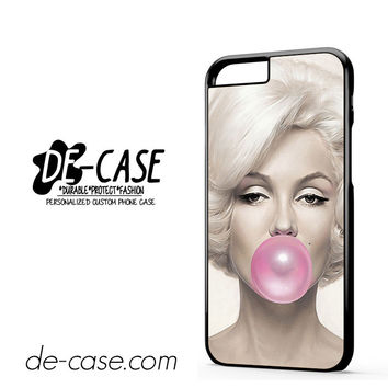 Marilyn Monroe Bubble Gum For Iphone 6 Iphone 6S Iphone 6 Plus Iphone 6S Plus Case Phone Case Gift Present