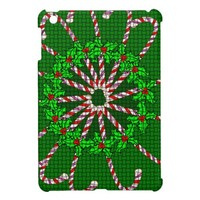 Candy Cane Weave iPad Mini Cover