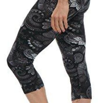 LMB Extra Soft Capri Leggings with Designs  Variety of Prints