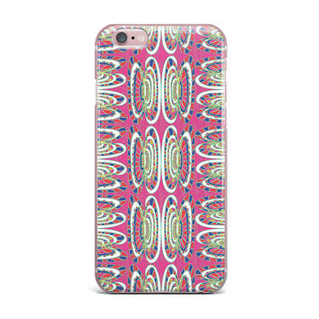 "Miranda Mol ""Bohemian Wild"" Pink Abstract iPhone Case"