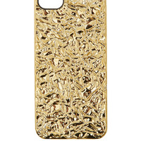 Marc by Marc Jacobs Gold Foil-Effect iPhone 5 Case | Accessories | Liberty.co.uk