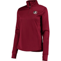 Women's Colosseum Garnet Florida State Seminoles Quarter-Zip Jacket