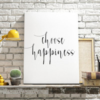 "printable art""choose happiness""be happy stay happy motivational quotes quote brushes art home and living best words apartment decor wall art"