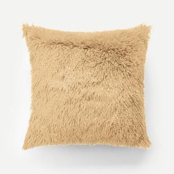 Mongolian Faux Fur Pillow Case