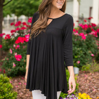 Keep In Mellow Top, Black
