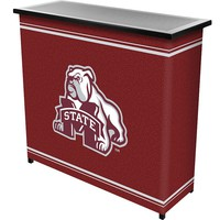 Mississippi State Bulldogs 2-Shelf Portable Bar with Case (Mst Team)
