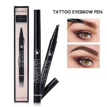 Eyebrow Tattoo Pencil: Natural, Waterproof, Choose from 5 Colors