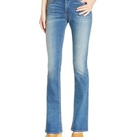 True ReligionJennie Curvy Bootcut Jeans in Boot Rolling Indigo