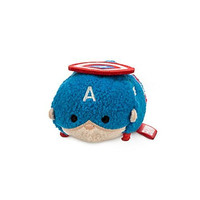 Disney Captain America ''Tsum Tsum'' Plush - Mini - 3 1/2''