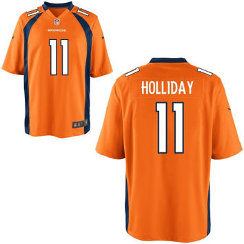 Trindon Holliday Denver Broncos Nike Game Jersey - Orange