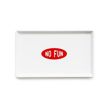 No Fun Small Trinket Tray