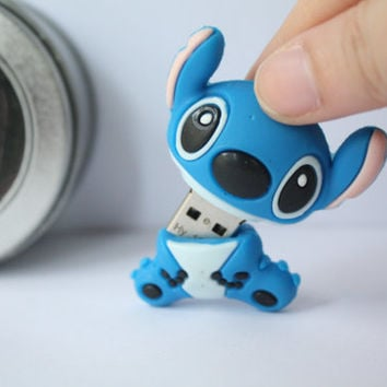 SALE30-70%OFF: 4GB Usb Lilo and Stitch usb Flash Drive 4Gb Flash Drive , Accessories , usb, Kawaii usbb , Cute Us