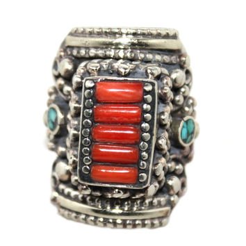 line coral ring
