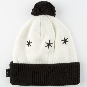 Black Scale Luminary Beanie White One Size For Women 25554915001