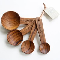 Merchant no. 4 - Teak Measuring Spoons - Gift