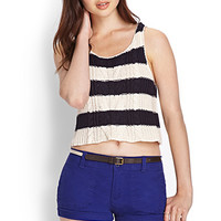 FOREVER 21 Belted Woven Shorts
