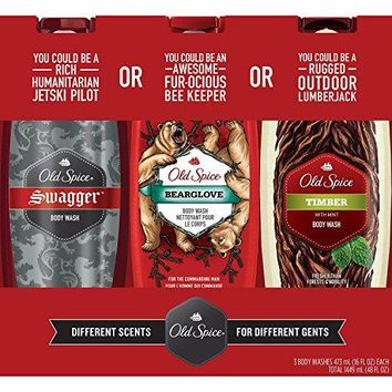 Old Spice Body Wash Variety Pack (16. fl. oz., 3 pk)