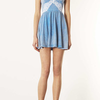 Denim Corset Tunic - New In This Week - New In - Topshop USA
