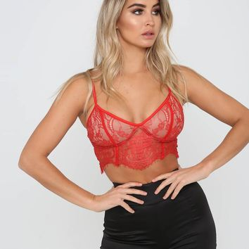Buy Our Emery Top in Red Online Today! - Tiger Mist